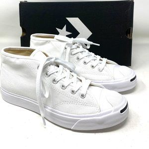 Converse Jack Purcell MID Top Canvas White Men's